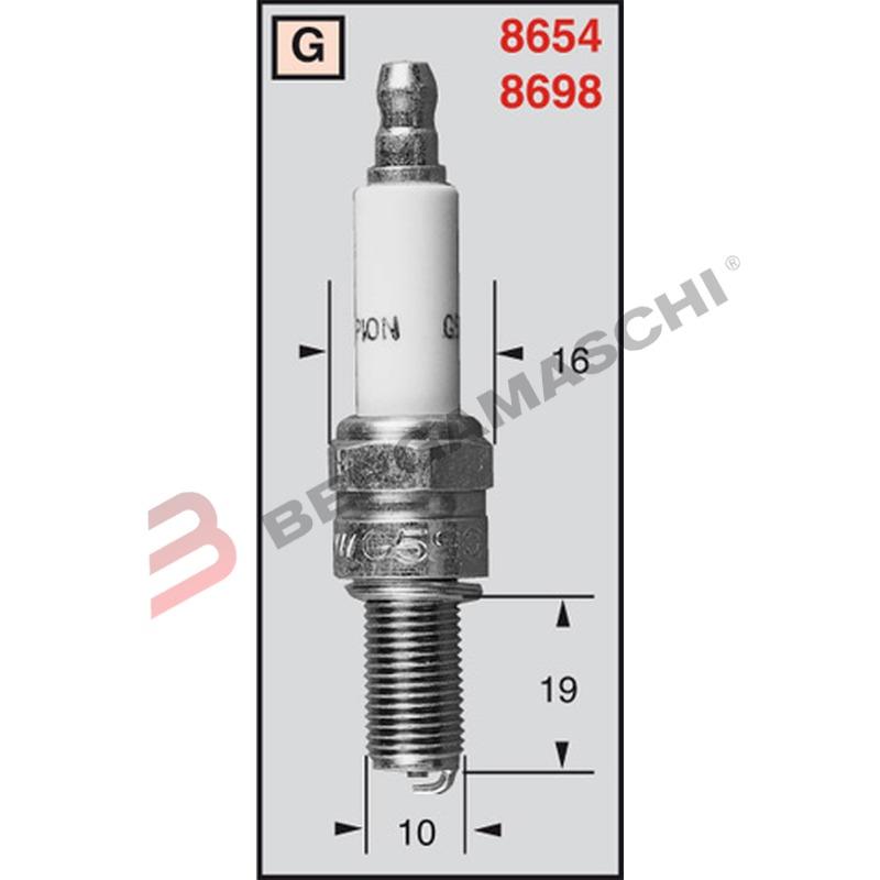 Fre66x77mm Ego 55.14549.826 Sicherheitsthermostat para Freidora Giorik Fre46f